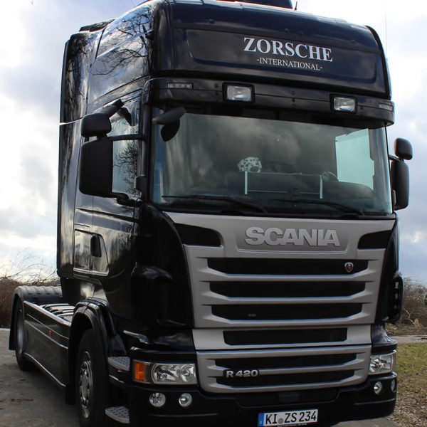 Zorsche-International LKW Scania Schwarz